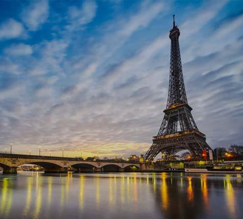Eiffel Tornet i Paris 1