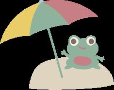 Groda parasoll